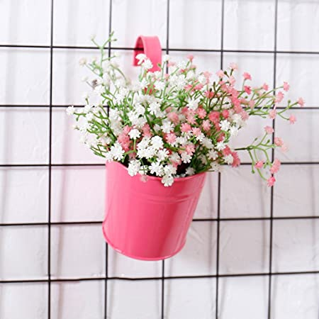 MMM Creative Simulation Flower Flower Pot Wall Hanging Wall ...