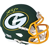 $112 » Aaron Jones Green Bay Packers Autographed Riddell AMP Speed Mini Helmet - Fanatics Authentic Certified