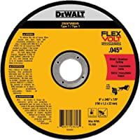 "DEWALT DWAFV86045 FLEXVOLT T1 Cutting Wheel, 6"" x .045"" x 7/8"