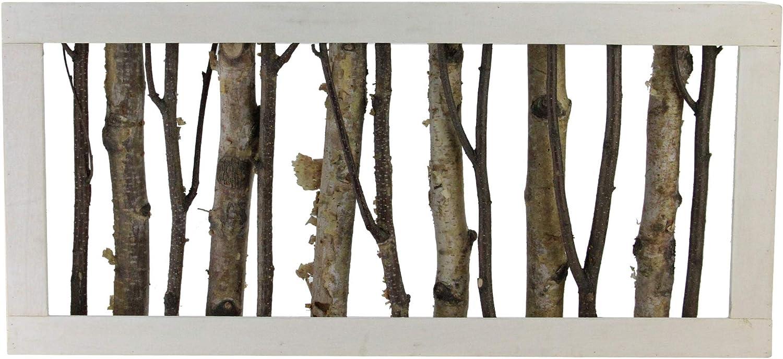 나무 프레임 테이블 상단 장식 18.75 브라운에 NORTHLIGHT 분기