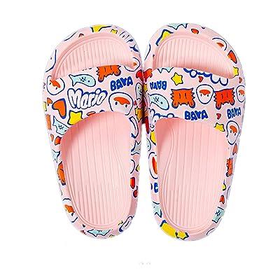 Girls Kids Childs Blue Mermaid Sliders Holidays Summer Beach Poolside Sandals