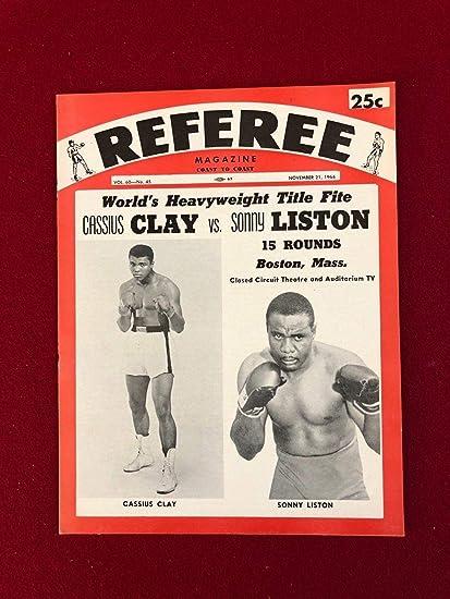 f2e5338b 1964, Cassius Clay (Muhammad Ali) vs. Sonny Liston,