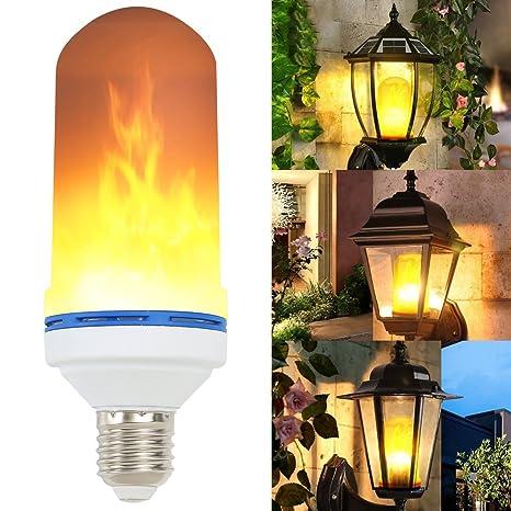 jardin festival Lampes Intérieure Led mariage Atmosphere Ampoule Pour noël E27 Flamme Lumières party Créatives Bar Décoratives HWYD2eEI9