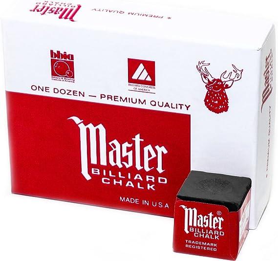 Master Billiard/Pool Cue Chalk Box - Best Pick
