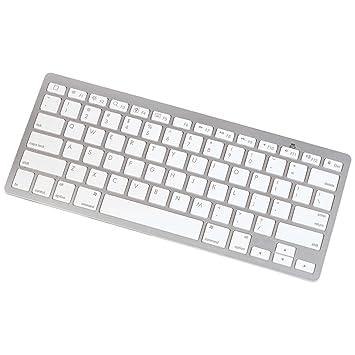 Manhattan 177887 Bluetooth Blanco teclado para móvil: Amazon.es: Electrónica