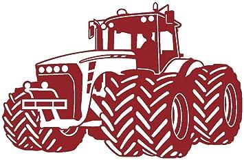 Samunshi Wandtattoo Trecker Traktor Kinderzimmer