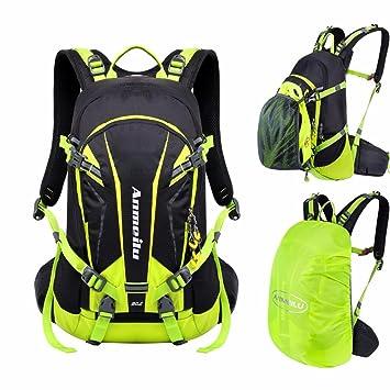 VERTAST - Mochila de ciclismo ligera de 20 l, impermeable, para senderismo, escalada, con cubierta para la lluvia, mujer, verde: Amazon.es: Deportes y aire ...