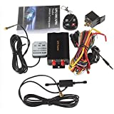 ATian Dual SIM Card Car GPS Trackerwith Open door via cell phone Cut off Oil & Power remotely TK103B+
