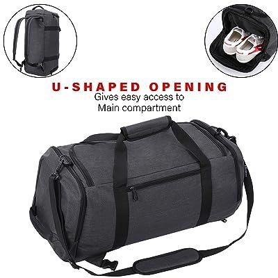 New Mens Large Sports /& Gym Duffle Holdall Bag Travel Sport Work bag travel