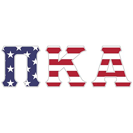 Amazon pi kappa alpha usa letter sticker decal greek 2 inches pi kappa alpha usa letter sticker decal greek 2 inches tall for window laptop computer car voltagebd Gallery