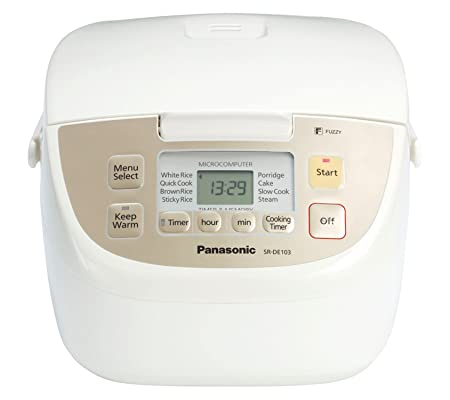 Panasonic SR-DE103 Fuzzy Logic 8 Pre-Program Rice Cooker