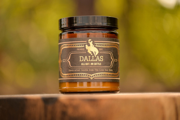 Dallas Candle- Small – Society by Jackson Vaughn