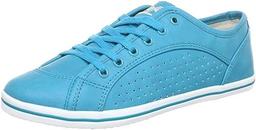 Buffalo 507- V9987 Tumble PU 144484 - Zapatillas de Deporte para Mujer, Color Turquesa, Talla 37: Amazon.es: Zapatos y complementos