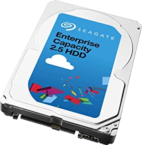 "Seagate 2TB Enterprise Capacity HDD 128 MB Cache 2.5"" Internal Drive (ST2000NX0433)"