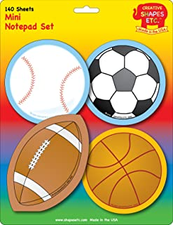 product image for Sports Mini Notepad Set