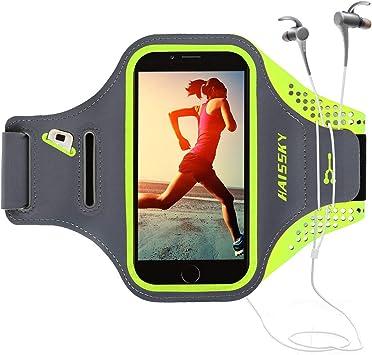 Guzack Brazalete Deportivo Running para Moviles Phone, Prueba de ...