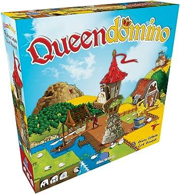 Azul Naranja Queendomino Juego: Amazon.es: Juguetes y juegos