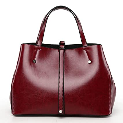 65a8cd45c99 Image Unavailable. Image not available for. Color: European And American  Simple Ladies Bag Handbag Shoulder ...