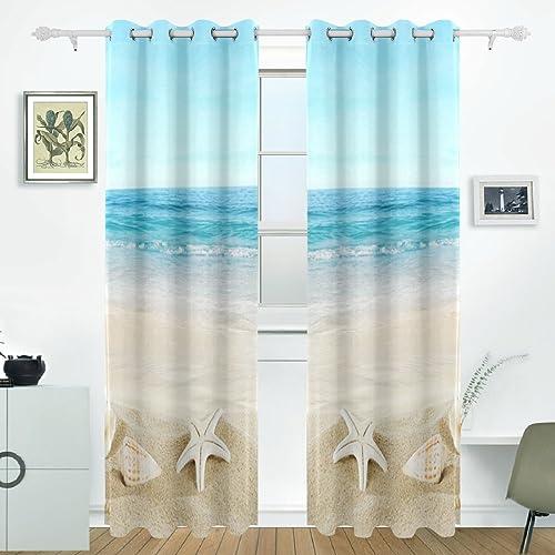 Beach Curtains: Amazon.com