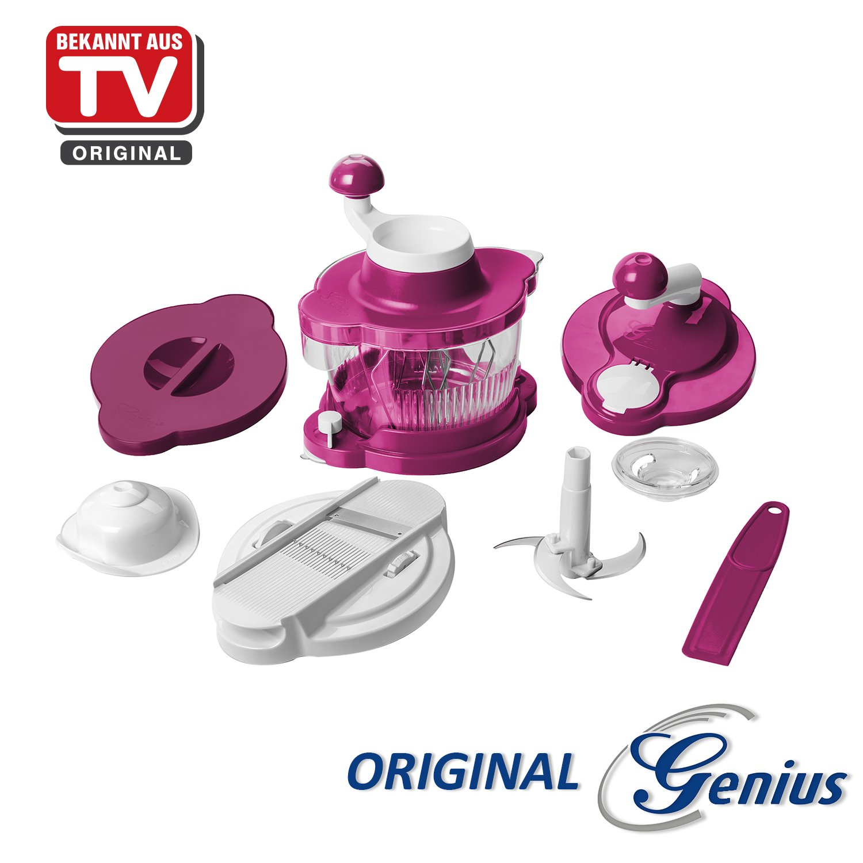 Compra Zócalo Original Genius Licuadora Cutter Twist Cutter, Set ...