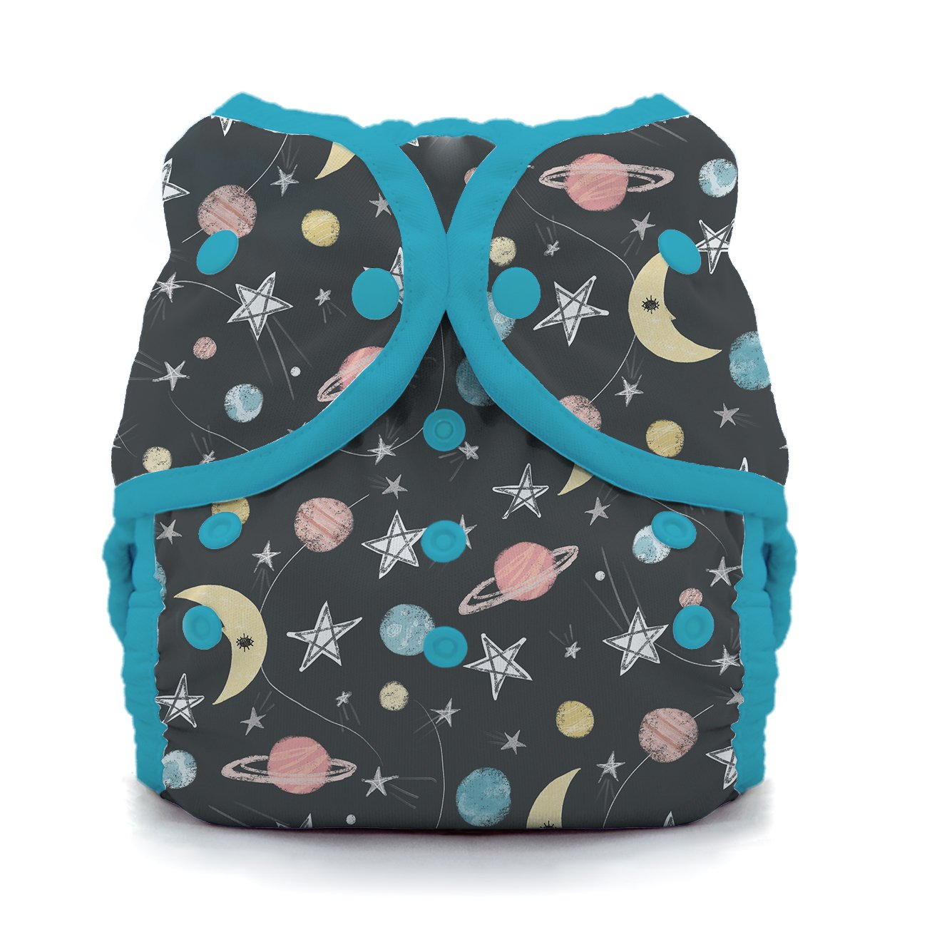 Thirsties TDWSSg2 Snap Duo Wrap Stargazer Size Two (18-40-pound) Diapers