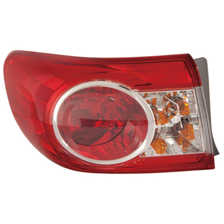 Transparent Red Hose /& Stainless Green Banjos Pro Braking PBF7841-TRD-GRE Front Braided Brake Line