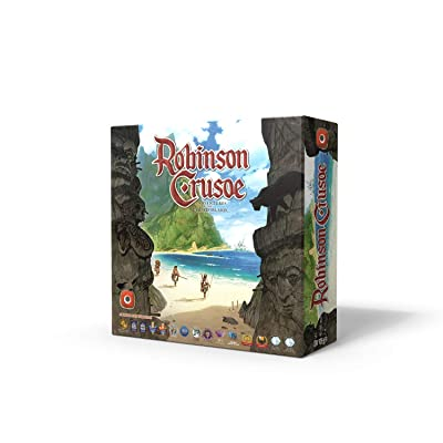 Portal Games Robinson Crusoe Adventures on the Cursed Island Board Game: Toys & Games
