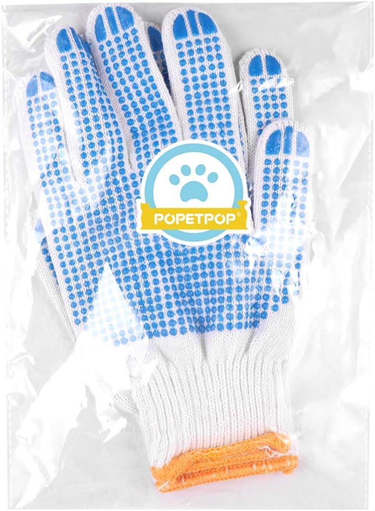Anti Scratch Handling Gloves for Dog Cat Bird Parrot Squirrels Hedgehog Bird Training Anti Bite Gloves Dog Biting Gloves Anti Bite Scratch POPETPOP Animals Protection Glove Random Color