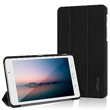 "JETech Funda para Samsung Galaxy Tab A 7.0"" (SM-T280 / T285) Case Carcasa con Stand Función (Negro) - 3602"