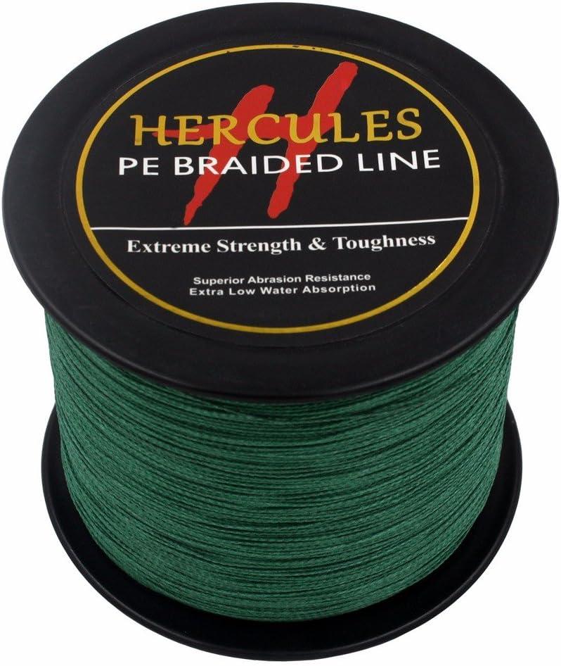 HERCULES 2000m 2187yards Superline 6lbs to 100lbs Pe Braid Fishing Line 4 Strands 13 Colors