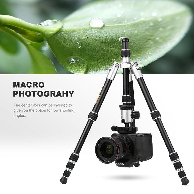 K & F Concepto tm2235 Cámara compacta trípode 50 Inch Trípode de Viaje Ligero con Profesional rótula de Bola de liberación rápida para DSLR DV Canon Nikon ...