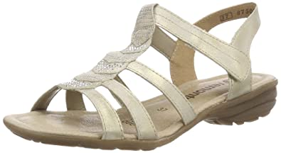 Remonte Women's R3637 T-Bar Sandals Clearance Looking For Discount Footlocker Finishline Outlet Fake Low Shipping Fee Cheap With Mastercard Ub83N