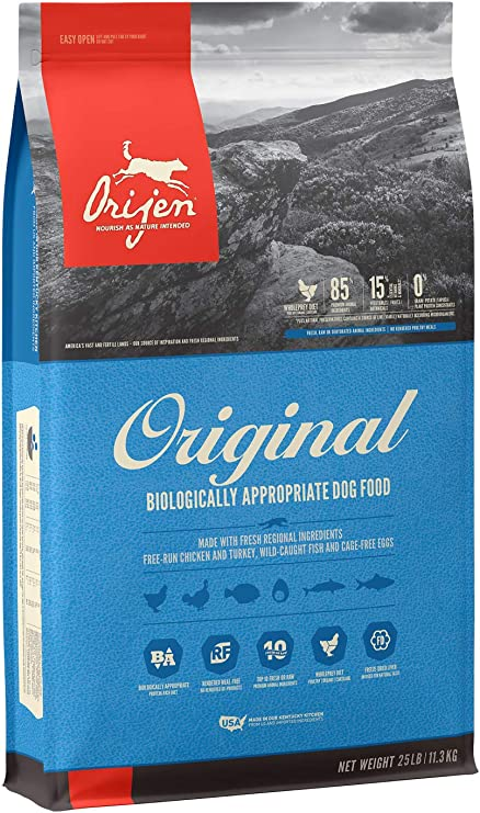 Orijen Original Dry Dog Food - Best Overall Food for Diabetic Dogs