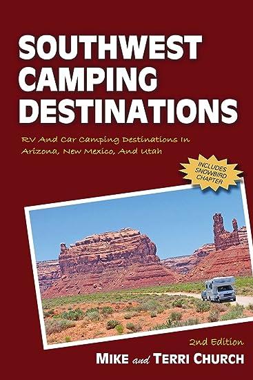 Amazon Com Southwest Camping Destinations Rv And Car Camping