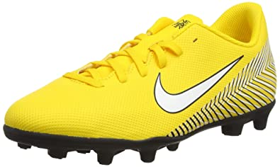 finest selection 4e0e4 3b63c Nike Mercurial Jr Vapor, Chaussures de Football garçon, Multicolore  (Amarillo/White-