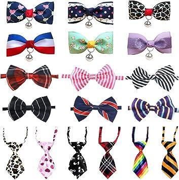 LZYMSZ Pet Bow Tie, 18 Pack de Corbatas Ajustables para Perros ...