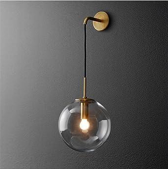 Kreative Retro Moderne Minimalistische Wandlampe Wohnzimmer Schlafzimmer  Esszimmer Flur Bett Hotel E27 Lampenfassung (Einschließlich Led