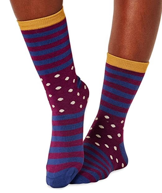 Braintree bamboo socks - Calcetines - para mujer Purple, Blue, Off-White,