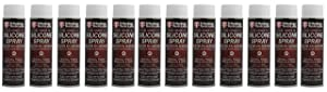 Tribology/Tech-Lube 752436100082-12 Food Grade H1 Silicone Spray Grease, 12.5 oz. Aerosol Can (Pack of 12)