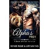 Alpha's Prey: BBW Bear Shifter Romance (Bad Boy Alphas)