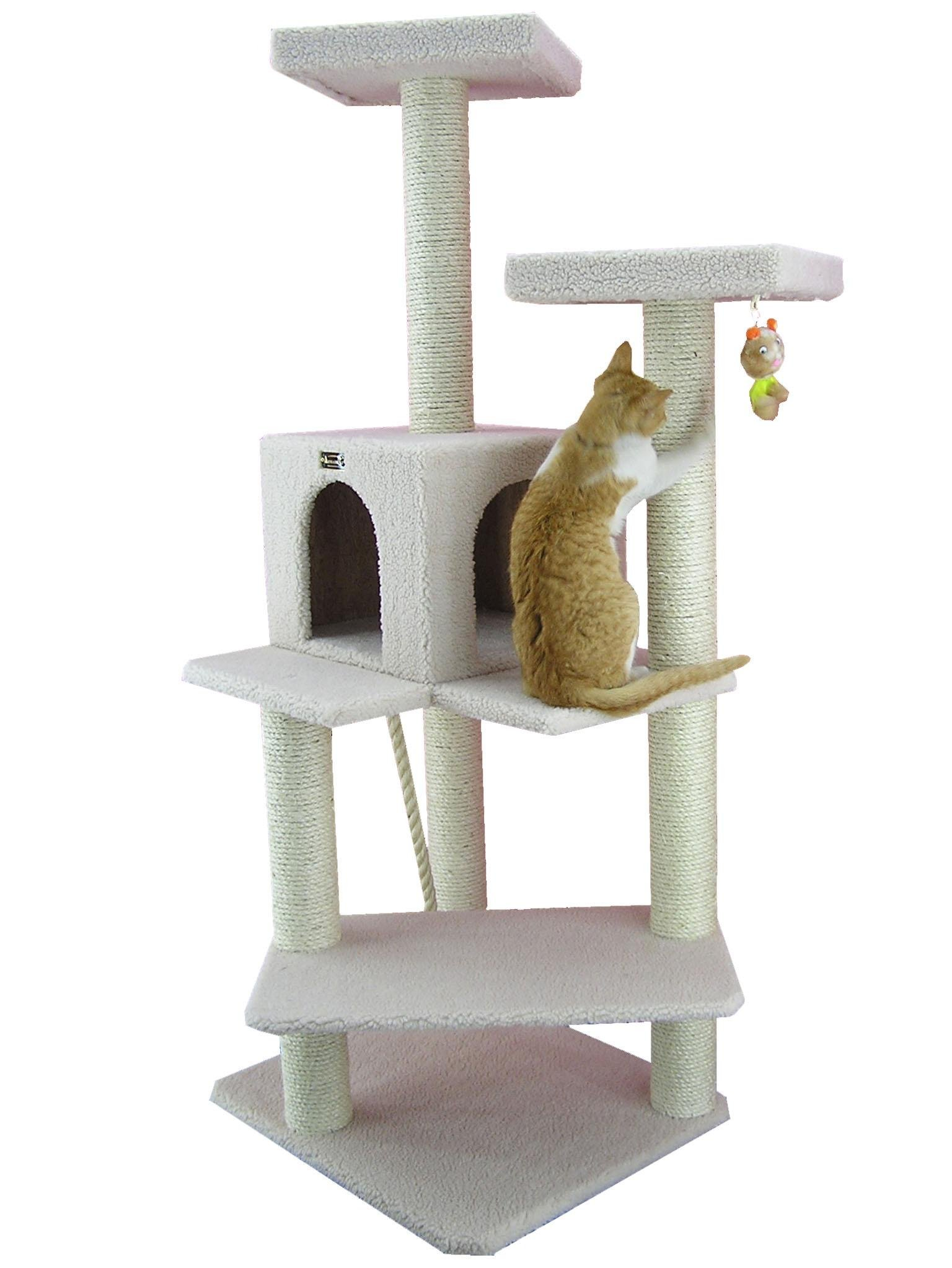Armarkat Cat tree Furniture Condo Height -50-Inch to 60-Inch