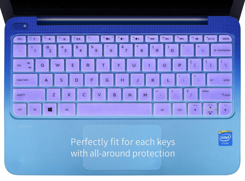 Amazon.com: casebuy Teclado protector piel cover de silicona ...