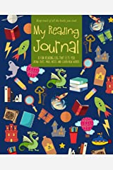 My Reading Journal: For kids | Keep track of all reading with this guided diary and log book | Read, write, draw, rate your readings, and learn new ... For elementary, middle and junior high school Paperback
