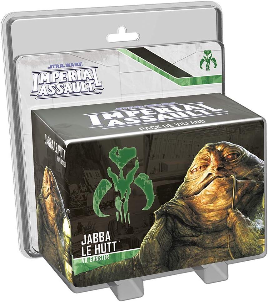 Fantasy Flight Games- Jabba el Hutt, colección Imperial Assault (FFSWI36)