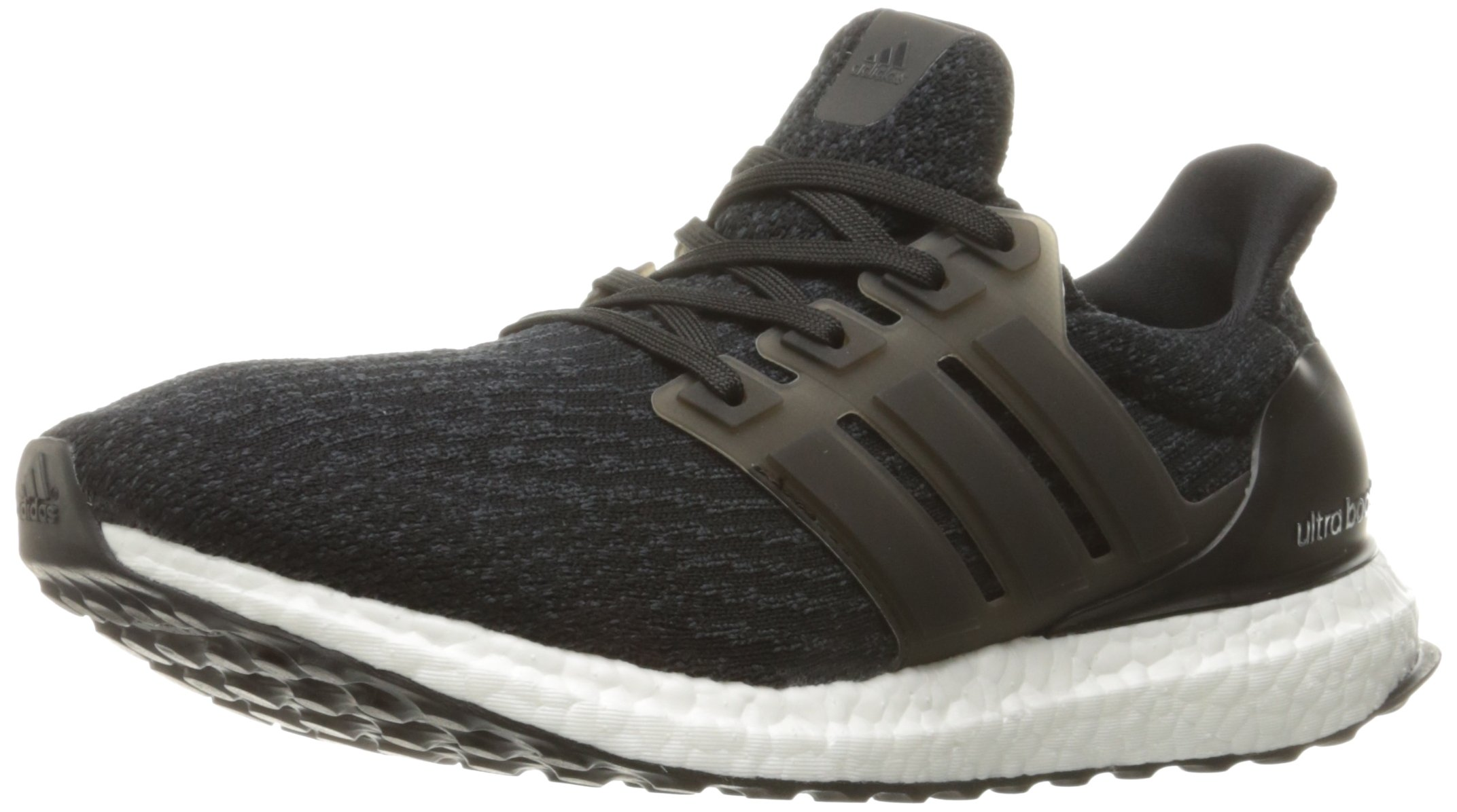 adidas Men's Ultraboost Running Shoe, Black/Dark Grey, 10 M US