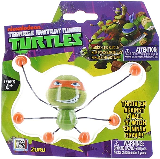 Amazon.com: Teenage Mutant Ninja Turtles Creepeez Wall ...