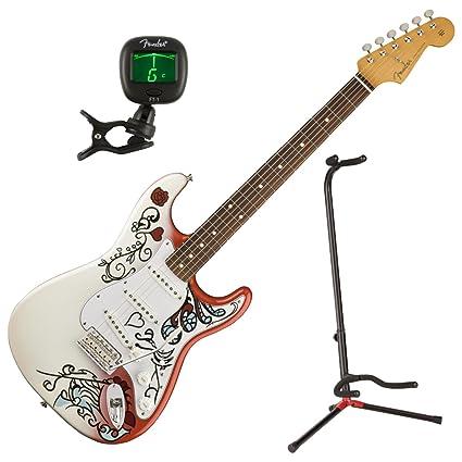 Fender Jimi Hendrix Monterey Stratocaster Edición limitada PF guitarra eléctrica w/funda, soporte,