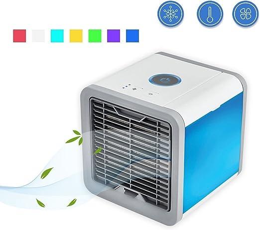 MXT-RM Mini Enfriador de Aire, Ventilador de Escritorio de la ...