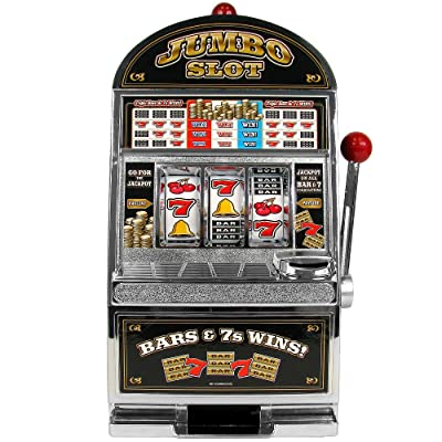RecZone Jumbo Slot Machine Bank - Replication: Toys & Games