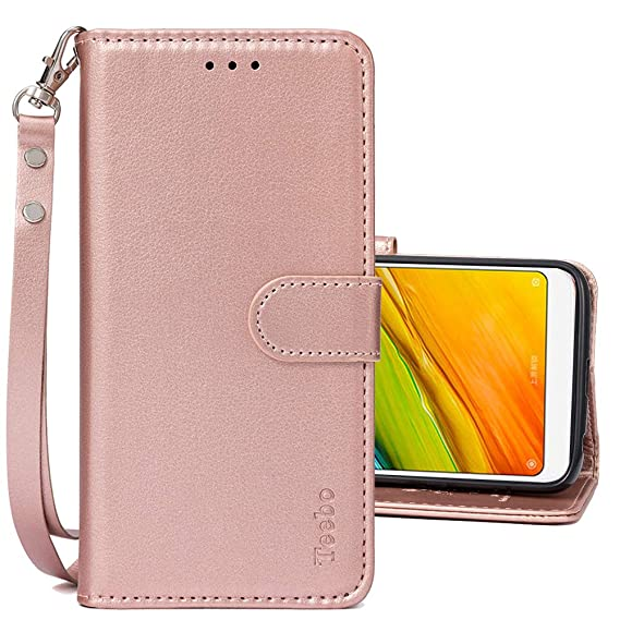 free shipping 0357d 402d0 Amazon.com: Wallet Flip Cases for Xiaomi Redmi 5 Plus, PU Leather ...
